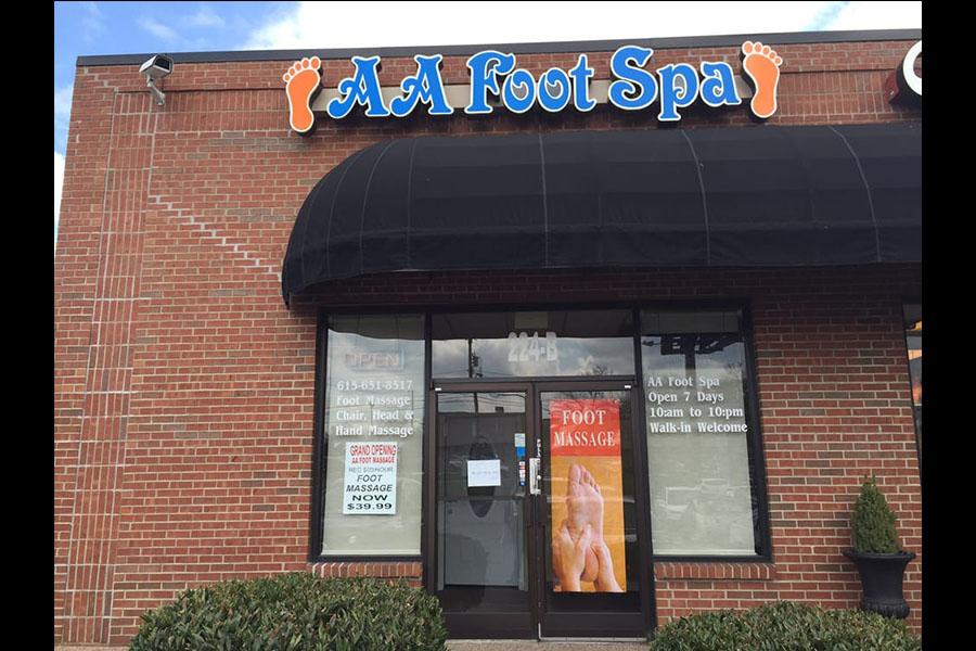 AA Foot spa