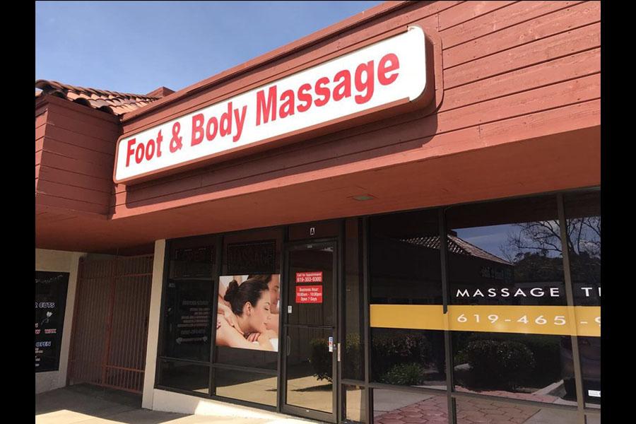 Foot & Body Massage